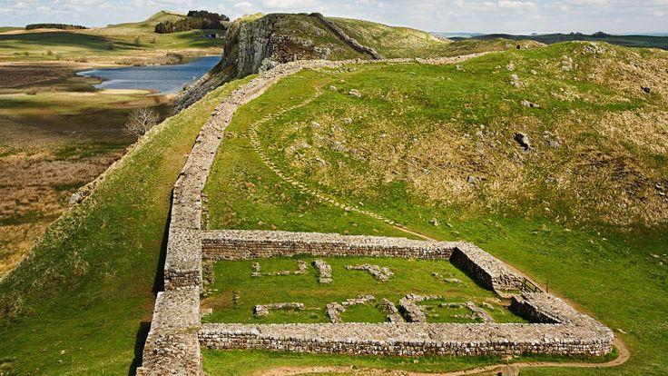 El famoso Muro de Adriano o Hadrian's Wall