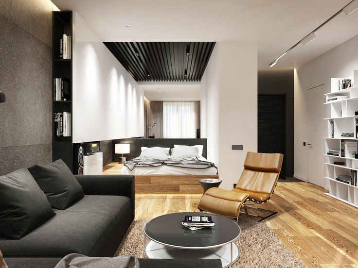 Apartment Designs For A Small Family Young Couple And A Bachelor (All Under 50 Square Meters And Includes Floor Plans) & 23 best 30 mq images on Pinterest | Flat design Apartment ideas and ...