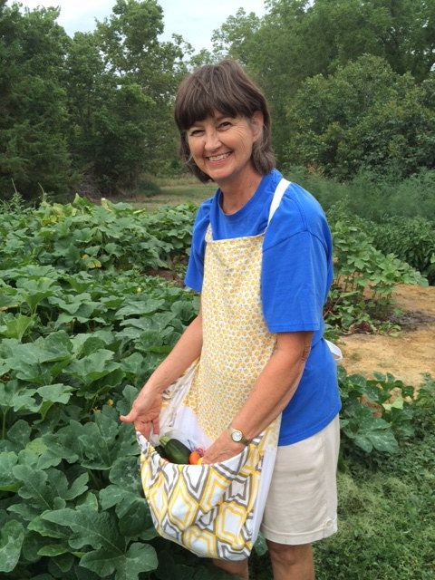 Womens Handmade Harvest Apron Yellow Floral by KittsonsKitchen, $35.00