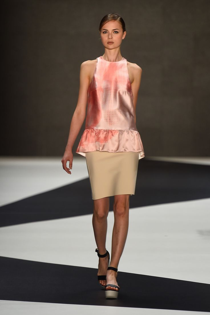 Look 23: Surrender Blouse with Bloom Skirt