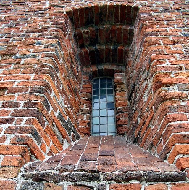 Juffertoren: window By doc(q)man  Ard Hesselink - The church in Onstwedde (built in 13th Century)