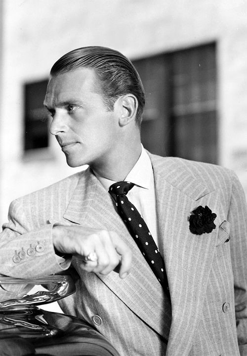 Douglas Fairbanks, Jr looking dapper in the 1930s