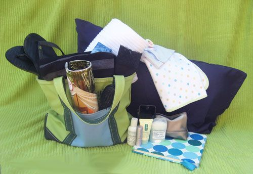 Hospital Bag –Gift ideas for new moms or future ideas