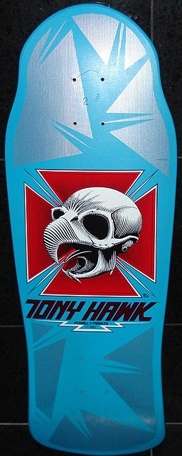 I had a mini in this color way as well.  Powell Peralta - Tony Hawk (1987)