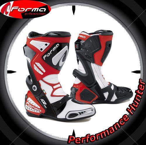 STIEFEL SCHUHE MOTORRAD FORMA RACING ICE PRO RED TG: 40