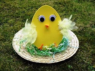 Chicky chick Easter bonnet making craft idea for children - so tweet!