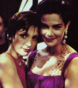 Nana Visitor & Terry Farrell. DS9.