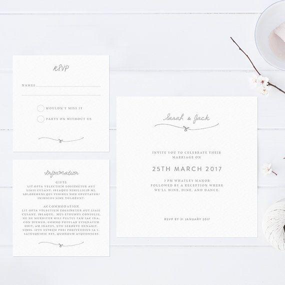 17 best wedding invitations images on pinterest wedding
