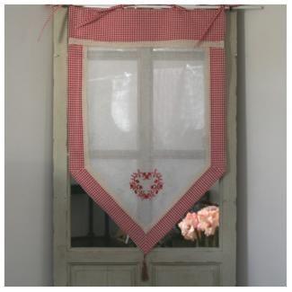 17 meilleures id es propos de rideaux vichy sur pinterest rideaux de la chambre de famille. Black Bedroom Furniture Sets. Home Design Ideas