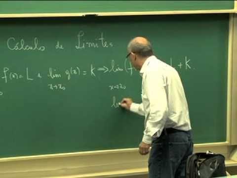 Cursos Unicamp: Cálculo 1 / aula 8 - Regras de Cálculo de Limite - parte 1