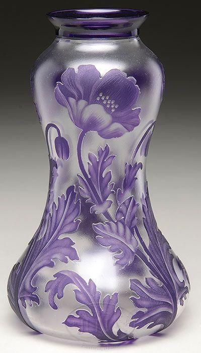 Val St. Lambert vase.
