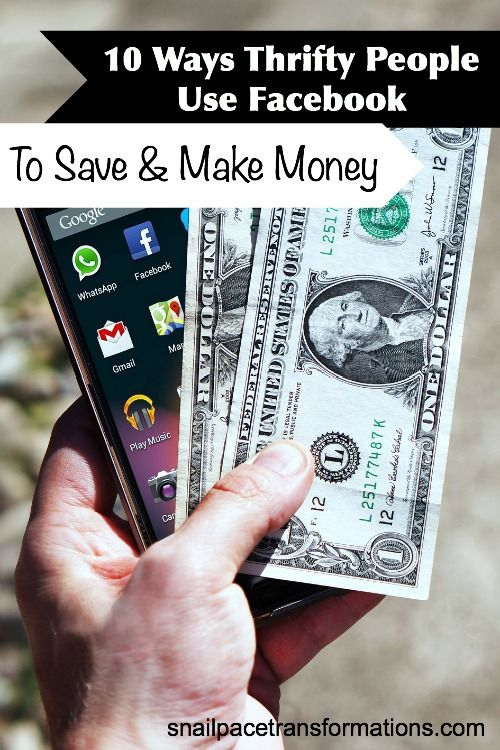 How To Use Facebook to Save & Earn Money.