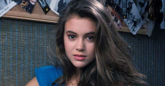 30 Pictures of Young Alyssa Milano