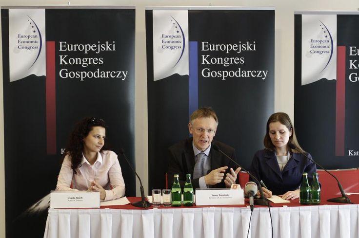 5 edycja Europejskiego Kongresu Gospodarczego w Katowicach. Projekt realizowany przez Imago PR.