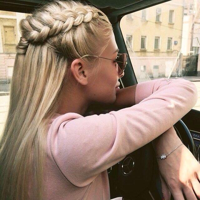Красивая и простая причёска / Прически / Своими руками - выкройки, переделка одежды, декор интерьера своими руками - от ВТОРАЯ УЛИЦА