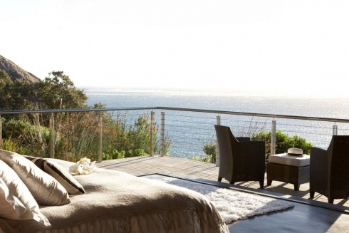 Catch the morning sunshine on your private deck at 26 Sunset Avenue   Llandudno  http://www.capetownvillas.net/llandudno/26-sunset-avenue