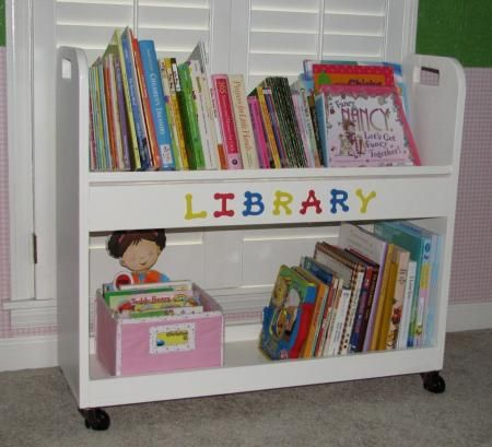plans to make your own library cart