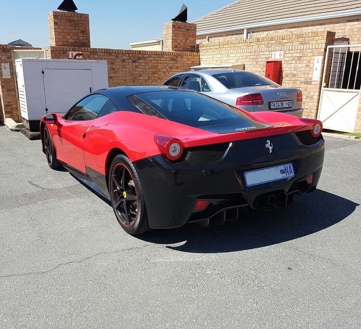 Seen this car a few times but can't quite grasp what the owner was trying to do   via @russbelgrove  #ExoticSpotSA #Zero2Turbo #SouthAfrica #Ferrari #458Italia