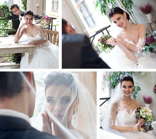 bride & groom Art Hotel Wroclaw