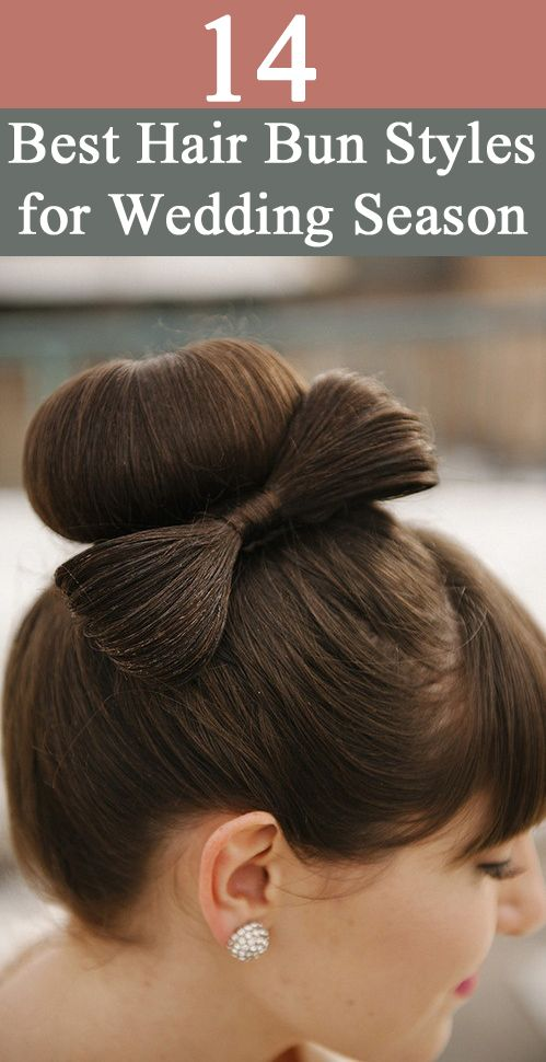 Hair Bun Styles: Check out 14 Hair Bun styles we picked from around the world.