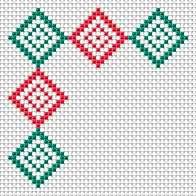 15 Decorative edges, embroidery, free cross stitch patterns and charts - www.free-cross-stitch.rucniprace.cz