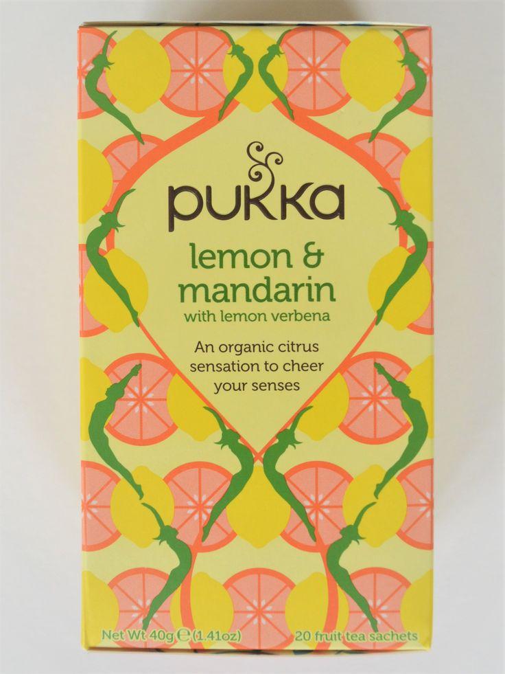 Pukka Lemon & Mandarin Tea | Pukka Herbs | Organic, ethically sourced, caffeine free | Fruit tea |  (Amazon.co.uk Affiliate Link)