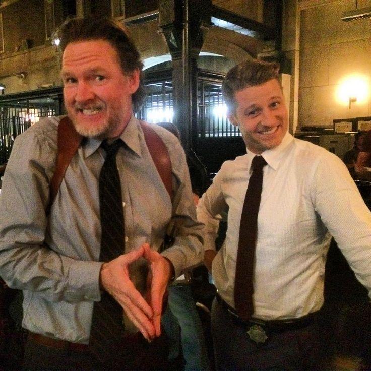 Bullock & Jim #DonalLogue #BenMcKenzie #gotham