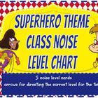 Give+your+students+a+visual+representation+of+their+noise+levels+and+where+you+want+them+to+be.  This+noise+level+chart+has+a+super+hero+classroom+...