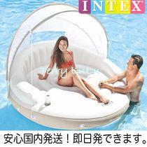 プールパーティー★屋根付ビッグフロート!セレブな浮き輪
