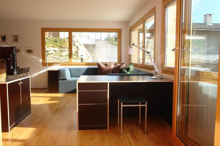 "Leasable holiday flat ""Tgèsa Bienviver"" in Sedrun, Switzerland"