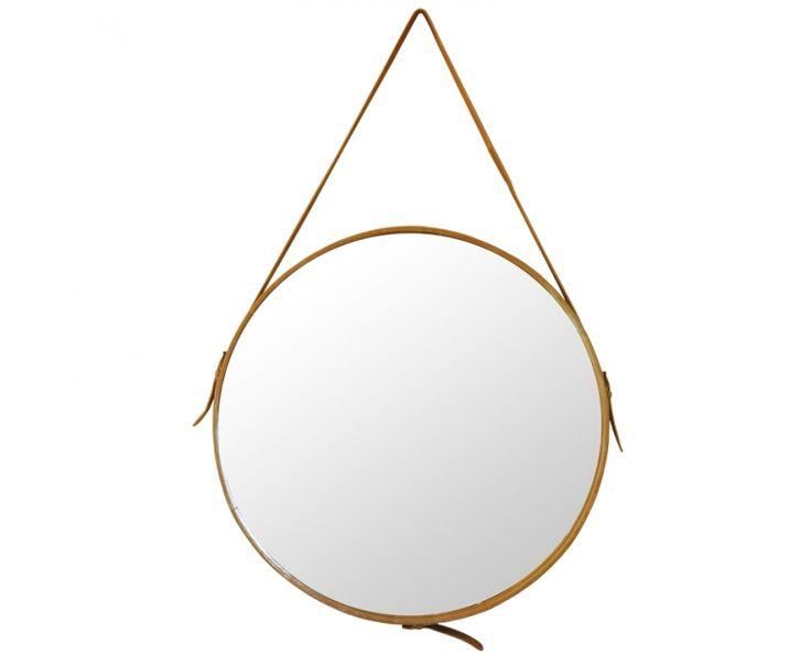 Round Mirror With Buckle Homeware Weylandts South