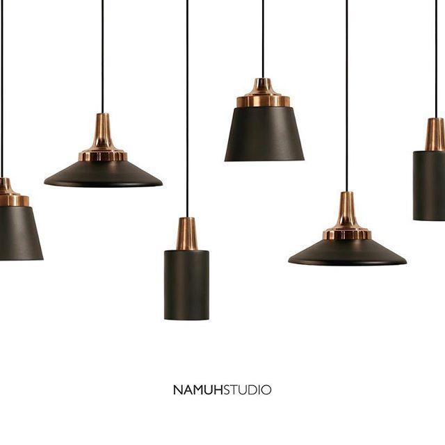"""""""La percepción de la belleza es un examen moral"""" Thoreau #namuhstudio luminarias de cobre y acero #design #lighting #interior"""