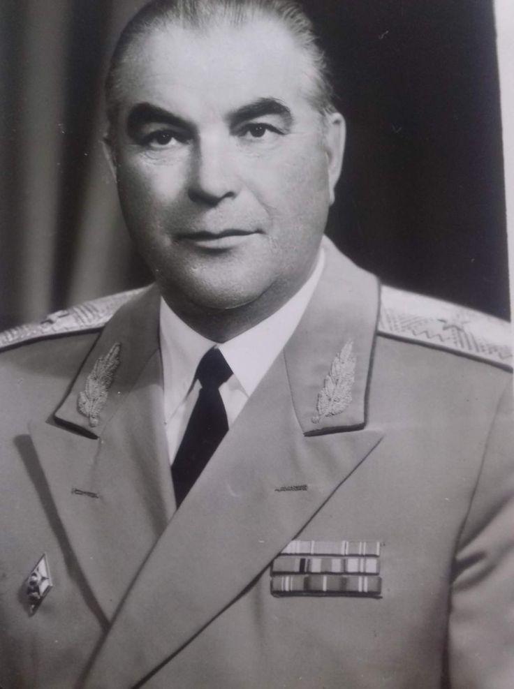ХАБАРОВ Анатолий Константинович. Начальник училища в 1975-1987 гг.
