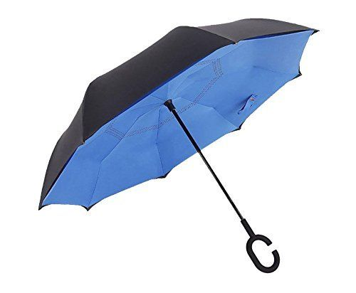 #beachaccessoriesstore Reverse Umbrella Inverted Umbrella - Travel Umbrella Windproof The Original All Weather Car… #beachaccessoriesstore