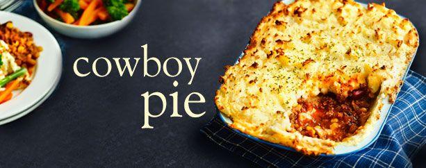 Cowboy pie - Recipes - Slimming World