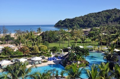 Shangri-la Hotel, Borneo.... Stayed here as part of my honeymoon, visited Orangu-tang Sanctuary, Rainforests, fantastic place!