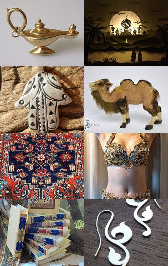 A Thousand and One Nights by Tina on Etsy--Pinned with TreasuryPin.com