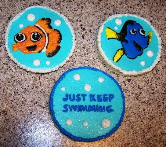 Nemo Dory cookies 1 Dozen by KimbosCookies on Etsy, $48.00 ...