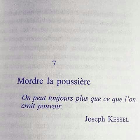 """""""Mordre la poussière"""""""
