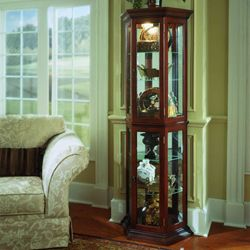 Preference Curio Cabinet At Pulaski Furniture Online · Living Room ...