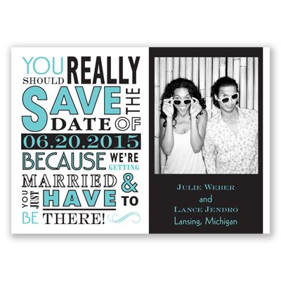 Ga Ga Photo Magnet - Begonia - Save the Date