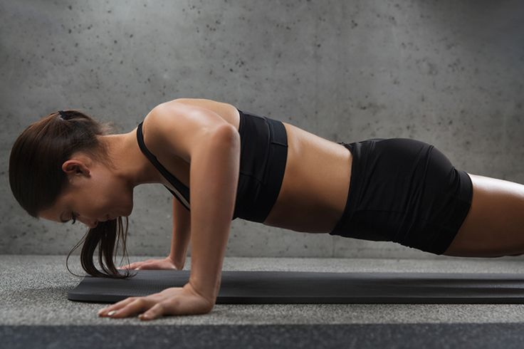 This toning workout is all about using bodyweight and light dumbbells to help you build fat-burning lean muscle. You'll work arms, abs, and legs.