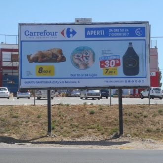 Quartu, Carrefour