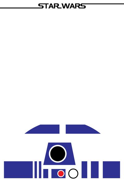 Minimalist Posters Of Characters From The Iconic Film Saga Star Wars