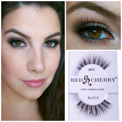 Red & Cherry false lashes $2.49