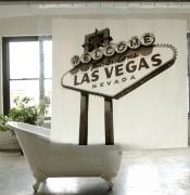 Las Vegas - Κουρτίνα Μπάνιου