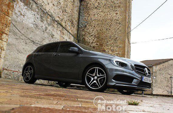 Prueba Mercedes A 180 CDI Blue Efficiency, equipamiento, precio y conclusiones - http://www.actualidadmotor.com/2013/10/02/prueba-mercedes-a-180-cdi-blue-efficiency-equipamiento-precio-conclusiones/