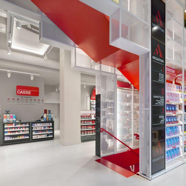 """#Mondadori #store is an innovative, #Italian space, expressing the original concept of """"#Mondadoriforyou"""""""