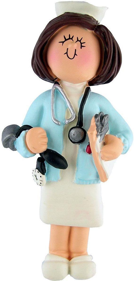 Cute Nurse Ornament