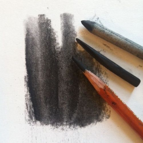 Charcoal Drawing Tools diagram image